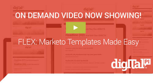 Now Showing! FLEX: Marketo Templates Made Easy