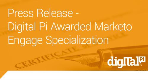 Digital Pi Awarded Marketo Engage Specialization
