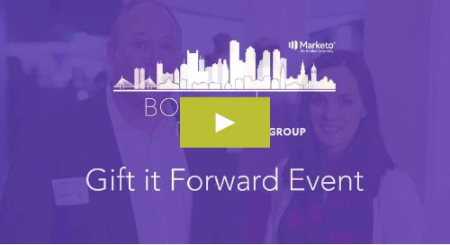 Gift it Forward 2019 with the BMUG