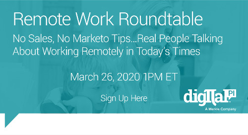 WFH WEBINAR - Remote Work Roundtable