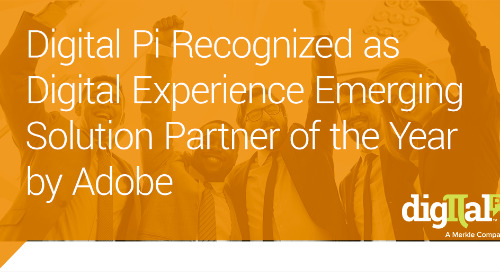 Press Release: Digital Pi Wins Adobe Award