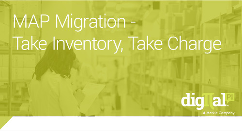 MAP Migration - Take Inventory, Take Charge