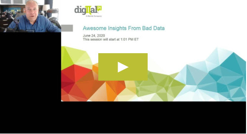 Awesome Insights From Bad Data