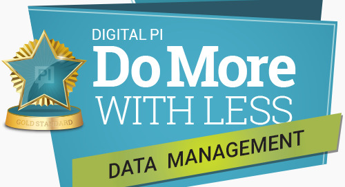 Do More With Less: Data Management