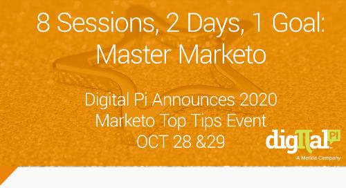 Digital Pi Announces Marketo Top Tips Event