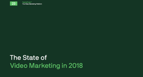 INFOGRAPHIC: THE STATE OF VIDEO MARKETING IN 2018
