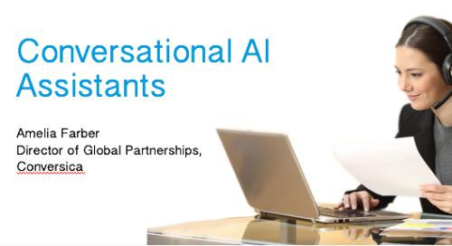 "ZEN Presentation Conversica ""Aligning Marketing and Sales using Conversational AI Assistants"""