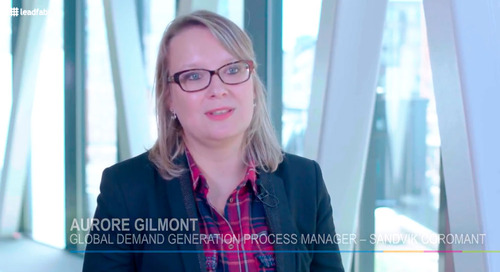 Client testimonial - Aurore Gilmont (Sandvik Coromant)