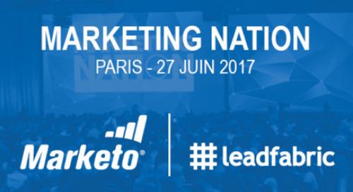FR: Que retenir du Marketing Nation 2017 de Paris ?
