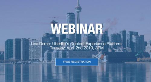 Webinar: Live demo - Uberflip's content experience platform