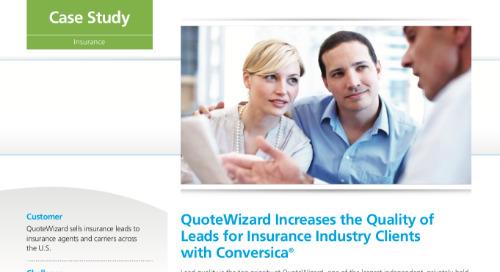 Conversica case study - QuoteWizard