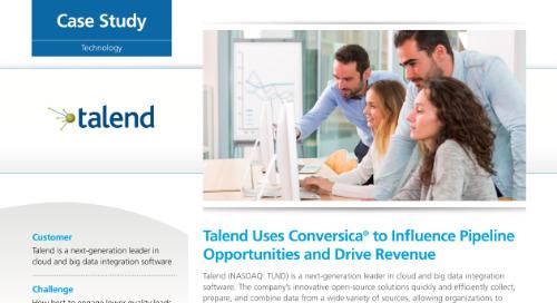 Conversica case study - Talend