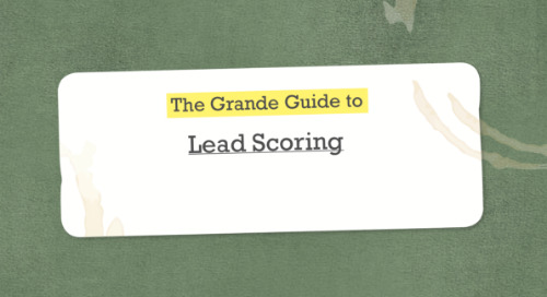 The grand guide to lead scoring