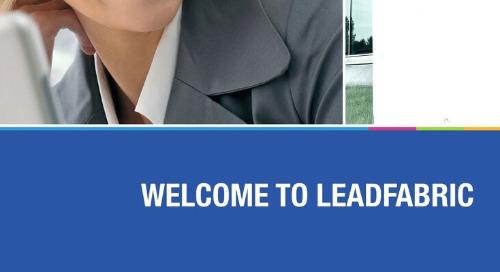 LeadFabric corporate brochure 2019