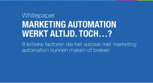 NL: marketing automation werkt altijd