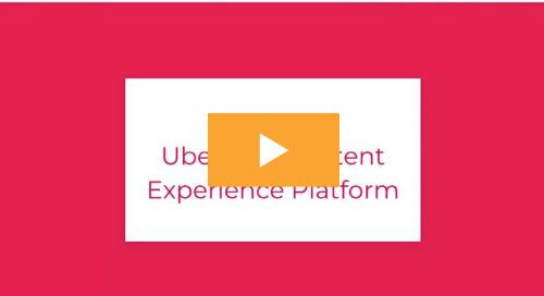 Webinar recording: Uberflip's content experience platform
