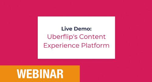 Slides: Uberflip's content experience platform