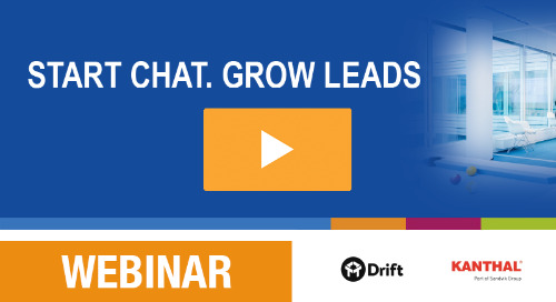 Recording: Start web chat, grow leads