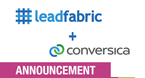 Press Release: Conversica Announces a Strategic European Reseller Partnership with LeadFabric