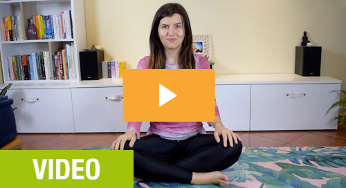 Online yoga class, your calm & peace hour