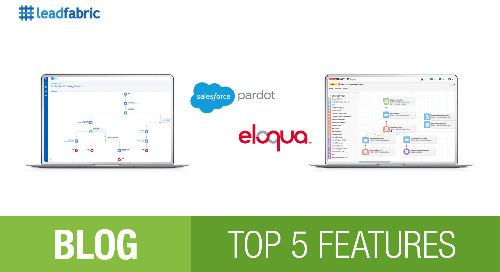 Top 5 Features: ELOQUA VS PARDOT