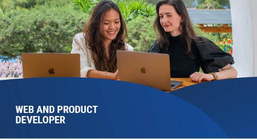 Web and Product Developer – Junior – Romania