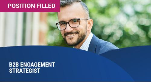 B2B Engagement Strategist – Senior – Benelux