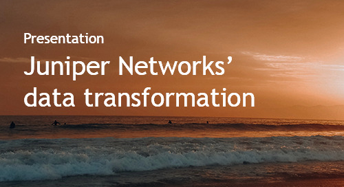 From Heart to Head - How Juniper Networks' Data Transformation is Driving Smarketing - Intent Event 2018