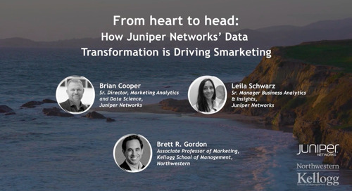 Intent Event 2018 - From Heart to Head - How Juniper Networks' Data Transformation is Driving Smarketing