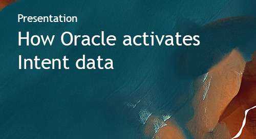 Intent Event 2019 - Oracle presentation