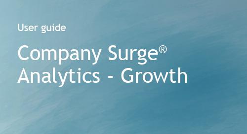 Bombora - Company Surge Analytics - User Guide - Growth