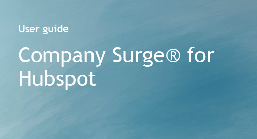 Company Surge® for Hubspot Integration Guide