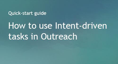 Bombora + Outreach: Quick-start guide to Intent-driven tasks