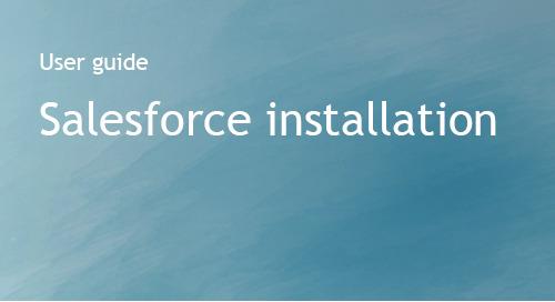 Salesforce Installation Guide - Bombora