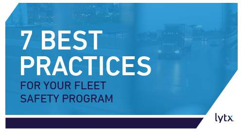 Best Practices for Your Fleet Safety Program