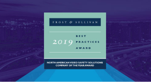 "Frost & Sullivan Names Lytx ""2019 Video Safety Solutions Company of the Year"""