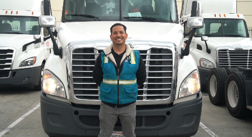 From the Driver's Seat: What's it like to be a Truck Driver During a Pandemic