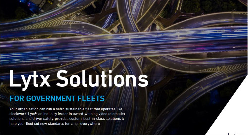 Lytx Solutions for Government Fleets