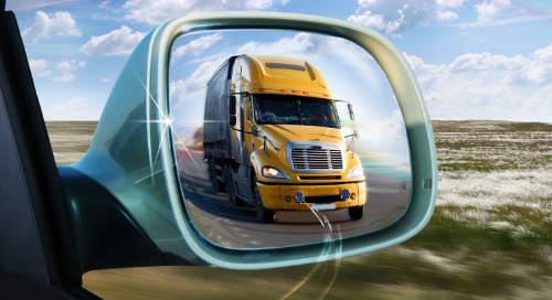 Reflections on Using Mirrors When Driving
