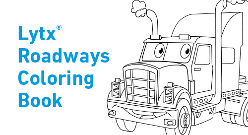 Lytx Roadways Coloring Book
