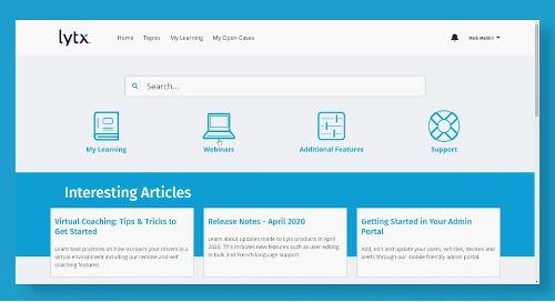 Feature Focus: Lytx Support Center