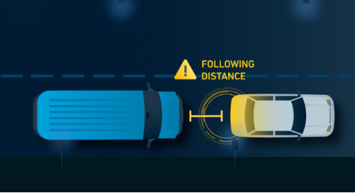 Following Distance for Trucks & Fleets - Safety Tips