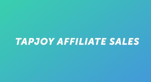 Tapjoy Affiliate Sales