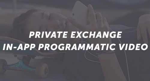 Private Exchange: In-App Programmatic Video
