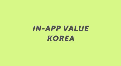 In-App Advertising: Korea Audience Engagement