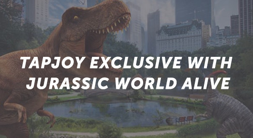 Tapjoy Exclusive with Jurassic World Alive