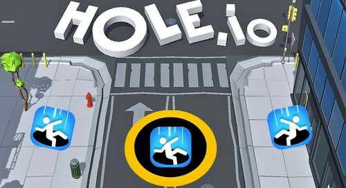 Tapjoy's App of the Month: Hole.io by Voodoo
