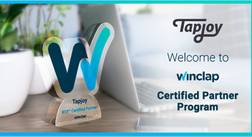 Tapjoy Partners with Analytic Pricing SaaS Winclap