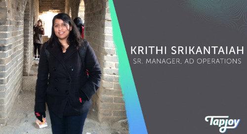 Tap Into Our Team: Krithi Srikantaiah