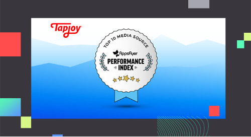 "Tapjoy Ranked as ""Top 10 Media Source"" in the AppsFlyer Performance Index"